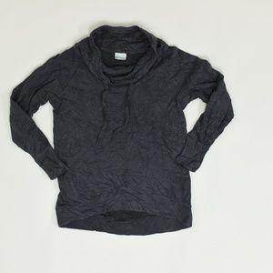 Columbia Regular M Gray   Sweater Cotton Blend Sol